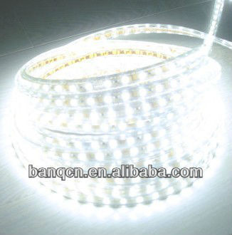 220v led strip, ultra bright 5050leds 60leds/m, 100m/roll