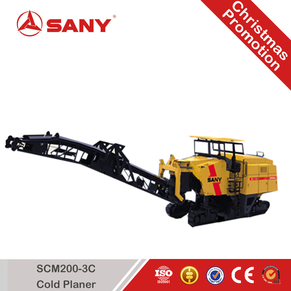 SANY SCM200-3C 10m Road Machine Cold Planer Concrete Milling planer machine