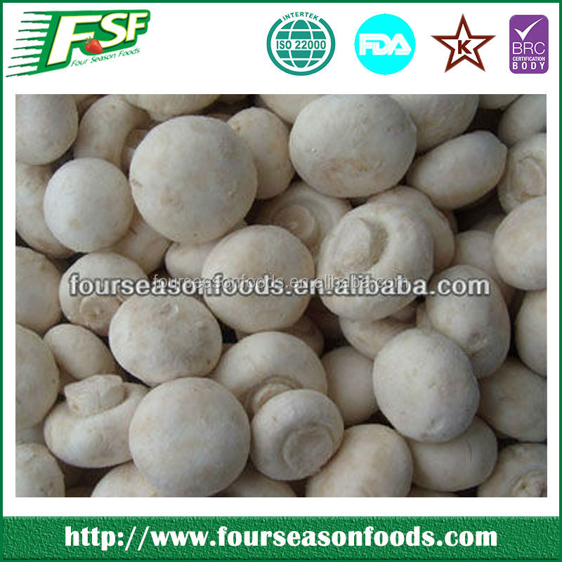Wholesale frozen champignons,fresh mushroom 2015 new season