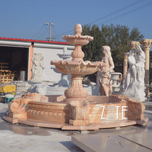 large marble water fountain outdoor stone fountains for sale