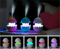 Funny Egg Design USB Air Filter White Scent Aromatic Mist Humidifier Diffuser for Car