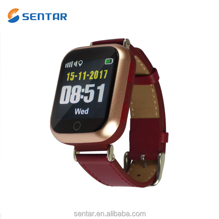 New GPS locator Smart watch with heart rate monitor pedemoter wrist watch tracker for old people