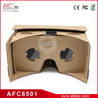 2016 cheap price sex video cardboard wholesale custom logo paper 3d glasses