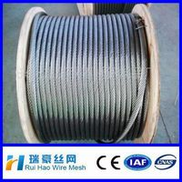 0.3mm Galvanized stainless steel wire rope