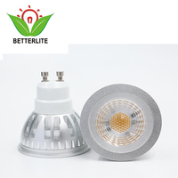 High-power gu10 6w dimmable 277v cob led spotlights for track light gu10
