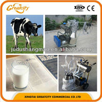 Dairy farm equipment portable milker