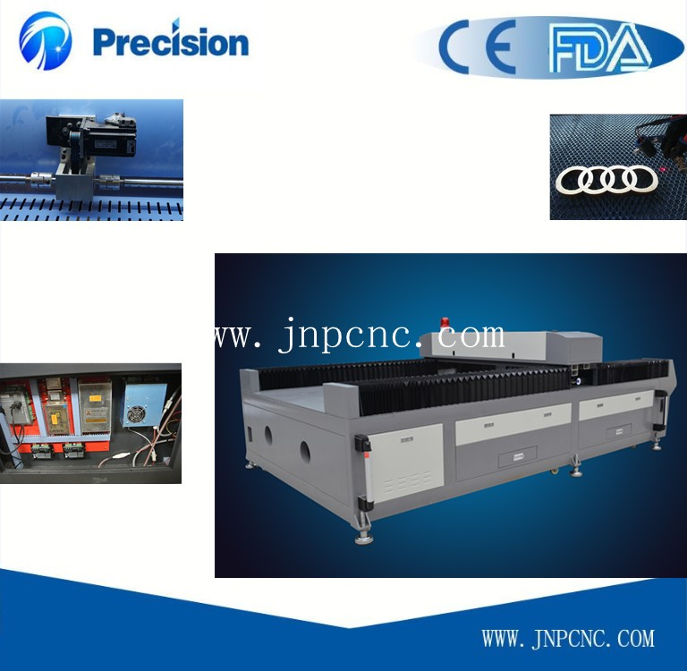 Best performance metal and non-metal laser cutting machine on embroidery JP1325-H