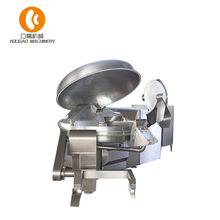 high-speed vacuum bowl cutter chopper processing machine