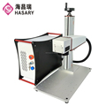 Super march discount animal tag Fiber Laser Marking Machine for sale