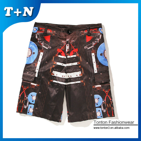 design your own sublimated board printed shorts