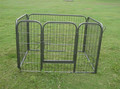Strong And Firm Iron Dog Fence