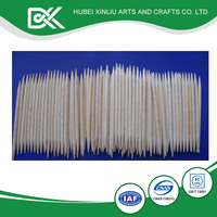 High quality wooden various sizes decorative party toothpicks