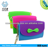 New design silicone custom coin purse/wallet