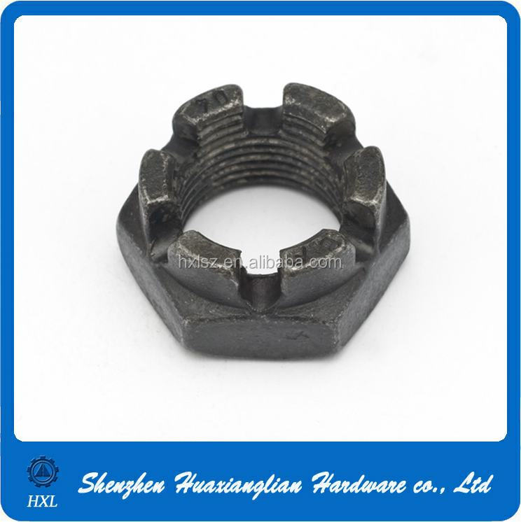 China manufacturer supply din979 hexagon thin slotted nuts and castle nuts