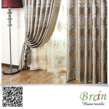 45% p 55% c hot sale fabric fold curtain