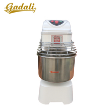 Hot sale electric single speed double acting used dough spiral mixers for sale(YQ-20-III)