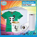 Hot sale heat sublimation paper high quality printing T-shirts dark inkjet heat transfer paper