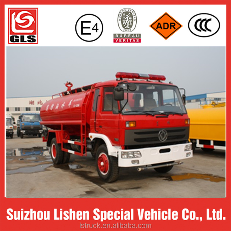Dongfeng water tank truck 6000L engine 190hp double Cabin