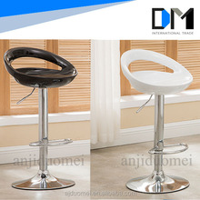 Plastic commercial bar stool high chairs/Hotel Furniture/Wholesale Modern Bar Chair