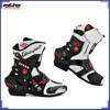 BJ-BT-A010 Motorcycle Boots shoes Microfiber Leather Motorbike racing Touring Boot