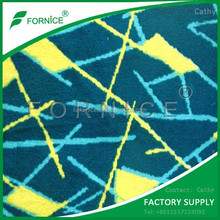 Factory Supply China High Quality printed velvet fabric for bus seat covers