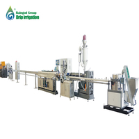 2018 Flat plastic drip irrigation pipe making machine