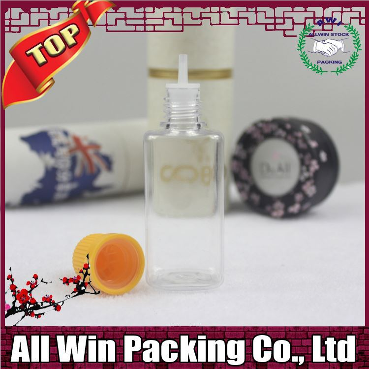 alibaba in Poland Clean eliquid bottle 30ml 10ml with plastic cap and pe pipe for e cigarette liquid