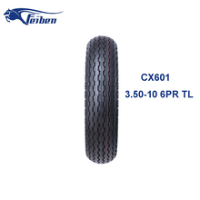 CHINA CHEAP WHOLESALE TIRES FEIBEN BRAND CX601 SCOOTER TYRE 3.50-10 MOTORCYCLE TUBELESS TYRE