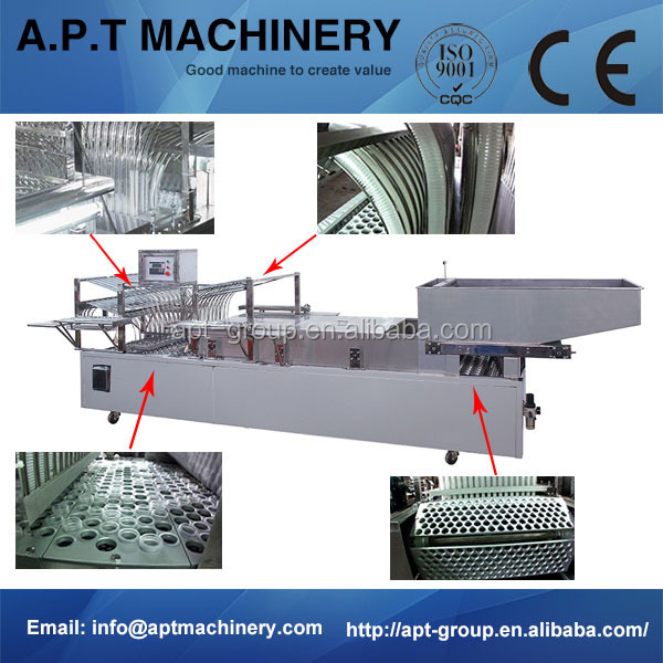 Auxiliary Equipment Fully Automatic Plastic Bowl Stacking Machine with CE Standard