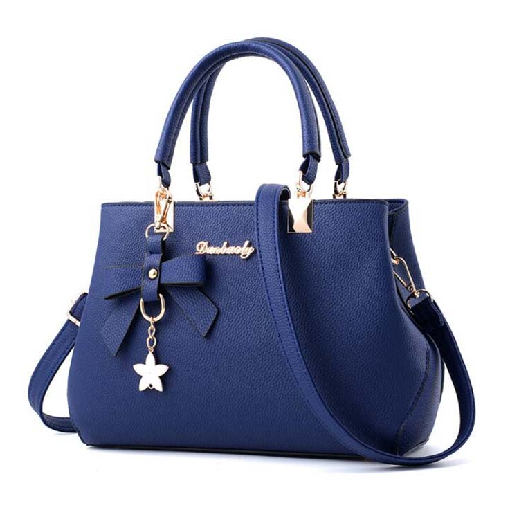 Fashion Korea Lady Women Leather Shoulder Handbags