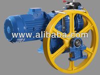 Lifting Gearbox for geared traction machines