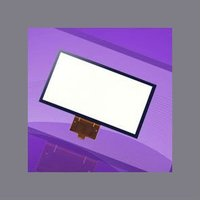 customized 4.3 inch Projected Capacitive Touch Panel for phone