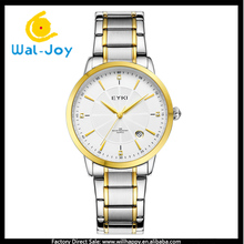 WJ-4754 EYKI brand Japan movt quartz stainless steel back men women wrist watch