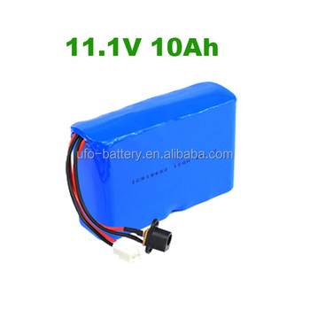 EV li-ion Battery Pack 11.1V 12V 10Ah Lithium-ion Battery Pack For Led Light