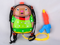 Hot Sell Plastic Water Gun With Bear Design Bag ,Summer Toy Water Gun With Bag,Cartoon Water Gun Toy For Kids