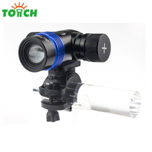 Factory wholesale super bright led bike flashlight 3w xpe 800 lumen zoomable led flashlight for bicycling