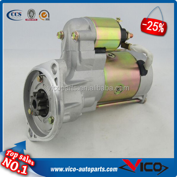 Starter Motor For Isuzu D-Max Rodeo Pick up 4JA1-TC 4JH1-TC 2.5TD LRS02368 LRS2368