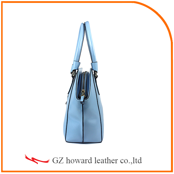 2015 Women Concise Style Pu Leather Shoulder Lady Handbag
