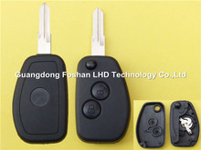 New Style 2 button modified remote folding key blank for Renault flip key shell