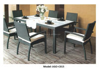 wholesale bistro sets different types of table setting rattan table sets