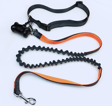 Premium Running Dog Leash with , Lightweight Reflective Bungee Dog Leash Hands Free Dog Leash