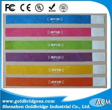China leader factory Hot Sell High Frequency Medical Healthcare Rfid Wristbands