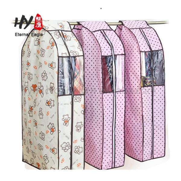 Hot selling non woven carry custom garment bags wholesale