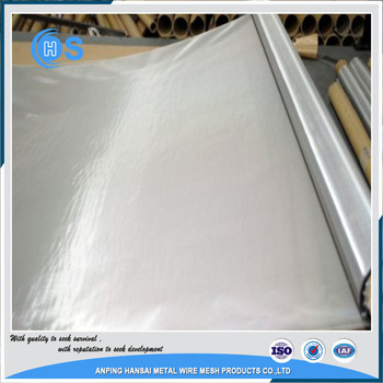 304/316l stainless steel wire mesh/ptfe coated mesh made in china