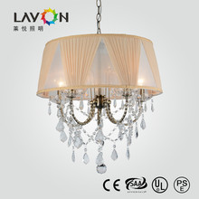 2015 hot sale beautiful crystal chandelier lamp for dinning room