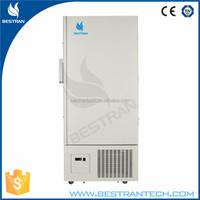 China manufacturer CE -86 degree super low temperature 398l hospital freezers vertical