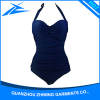 100% Polyester Sexy Extreme Thong Bikini Swimsuit For Women