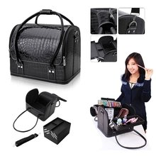 Professional Beauty Box Makeup Vanity Case Cosmetic Bag
