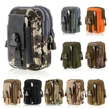 Outdoor Army Camo Camouflage Phone Bag Tactical Waist Belt Phone Pouch