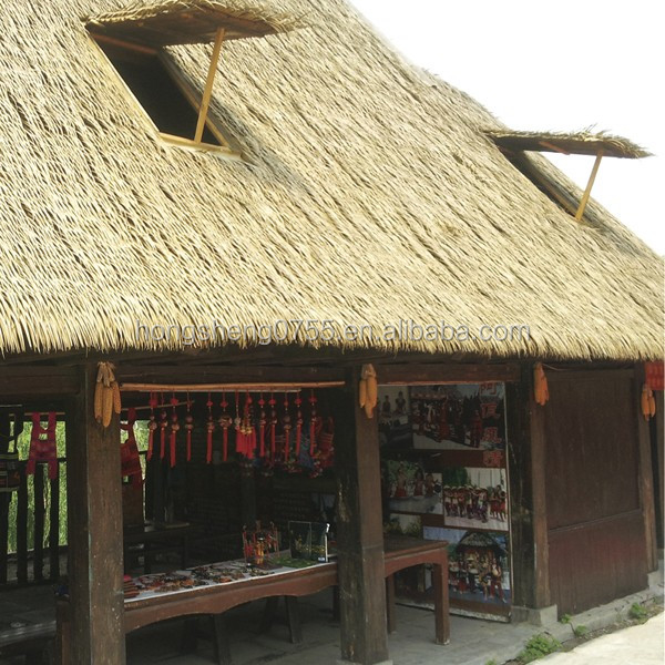 Fireproof Synthetic Thatch Roofing,Thatch Tiles Manufacturer From China